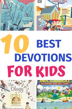 10 Awesome Devotions For Kids – Called To Mothering Best Children's Bible, Radical Book, Christian Kids, Christian Classroom, Bible Study For Kids, Kids Bible, Devotions For Kids, Raising Godly Children, Christian Devotions