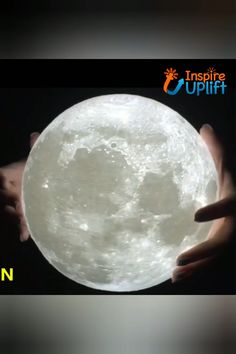 Beautiful Moon Light - ⭐⭐⭐⭐⭐ You've only ever dreamed of touching the moon…now indulge yourself with the soothing glow of our photo-realistic moon light. The LED light adjusts from soft white to yellow, creating the perfect ambiance for a rela Yellow Moon, Glow, Beautiful Moon, House Beautiful, Lumiere Led, Led Licht, Romantic Dates, Cool Lighting, Cool Gadgets