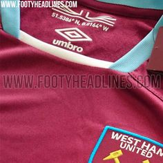 The new West Ham 16-17 home kit is made by Umbro and celebrates the club's historic move to the Olympic Stadium.