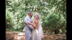 Meredith and Nathan got married! Meredith is wearing a dress made for her and she looks stunning. Many congratulations to you both. Handmade Wedding Dresses, Congratulations To You, Bohemian Style Dresses, Bridal Style, Got Married, Dress Making, Wedding Events, Couple Photos, Outdoor