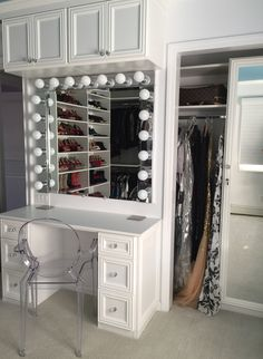 Courtney Blaymore Interiors  Theresa Caputo's closet