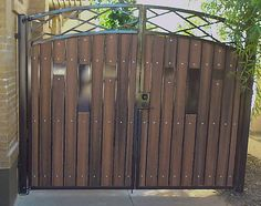 Decorative Iron and Composite Gate