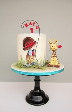 1 st birthday cake by daruj tortu