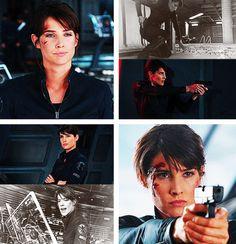 Agent Maria Hill (Cobie Smulders)
