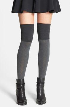 Free shipping and returns on Hue Microfiber Over the Knee Boot Liners at Nordstrom.com. Smooth, opaque tights are a flirty addition to favorite boots, designed with a double-layer cuff for a no-slip fit.