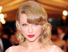 @Byrdie Beauty - Taylor Swift    Want to cop the singer's perfectly bright red lip? Just pick up Nars' Velvet Matte Lip Pencil ($25) in Dragon Girl (Karlie Kloss not included).