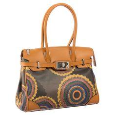 aad8e7a063ca Ripani Time Medium Tote Handbag Brown Fashion