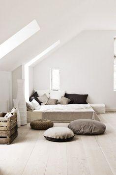 Poddasze - jak urządzić mieszkanie ze skosami, fot. mat. pras. Pinterest