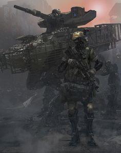 UF-searching by Yuanda Yu   Sci-Fi   2D   CGSociety