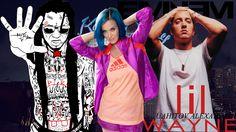 KATY PERRY, eminem, Lil Wayne WEEZY F Uahitov Alexander риссовал давно для себя))