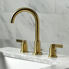 Brass Bathroom Faucets, Tub And Shower Faucets, Brass Faucet, Widespread Bathroom Faucet, Lavatory Faucet, Shower Tub, Shower Tiles, Bathroom Vanities, Single Bathroom Vanity