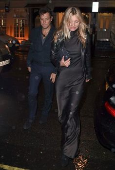 Kate Moss in London, January 2015