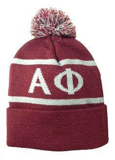 Alpha Phi Beanie Hat