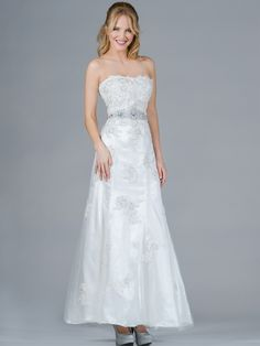 Off-White Destination Bridal Gown. Style #: C1904. Get yours at sungboutiquela.com