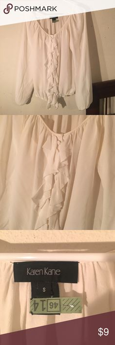 Karen Kane blouse No flaws. Gently used Karen Kane Tops Blouses