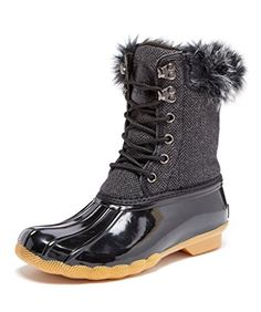 Arctic Plunge Womens Angelisa Boot Black 10 *** You can find out more details at the link of the image.
