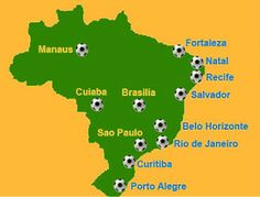 Fifa World Cup Tickets 2014 in Brazil.