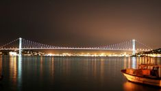 Istanbul Was Founded When - Bing Images Istanbul City, Istanbul Turkey, Turkey Tourist Attractions, Bridge Wallpaper, Bosphorus Bridge, Visit Turkey, Float Your Boat, Ancient History, Life Is Good