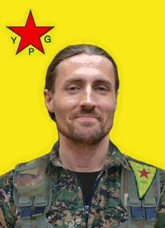 Keith Broomfield an American volunteer fighter who was killed while serving with the Kurdish YPG in Syria. R.I.P