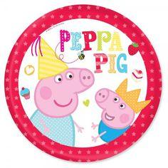 peppa pig de cumpleaños