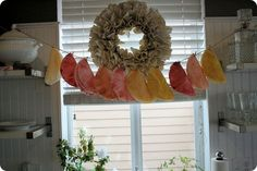This site has the directions for the coffee filter wreaths