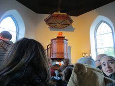 Inside the beautiful Old Dutch Church