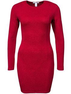 Jaquard Mini Dress - Nly Trend - Röd - Festklänningar - Kläder - Kvinna - Nelly.com