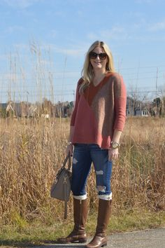 Thanksgiving Outfit Idea: Casual | Style in a Small Town