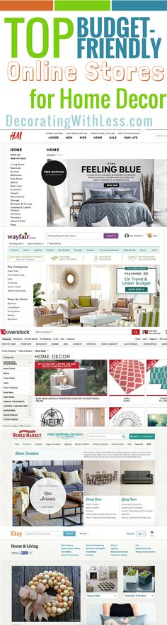 Top Budget Friendly Online Stores For Home Decor