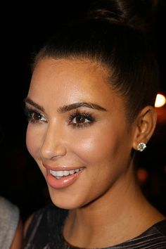 Kim Kardashian eye lashes... Looking beautiful as always... Come experience the greatness of full eyelashes.... Glamour Lash and Brow boutique (404-919-6315) in the Atlanta area