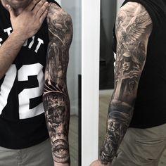 Tattoo by Niki Norberg (@niki23gtr)