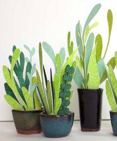 / paper plants /