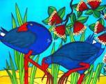 May Arts, Maori Art, Art Classroom, Tweety, Birds, Crafty, Painting, Fictional Characters, Inspiration