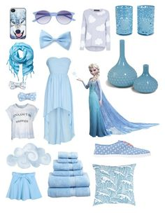 """Cloud 9 #blue"" by luigi999 ❤ liked on Polyvore featuring Wildfox, Saraghina, BlissfulCASE, Full Tilt, Love Quotes Scarves, Forever 21, Chicnova Fashion, dELiA*s, RoomMates Decor and Surya"