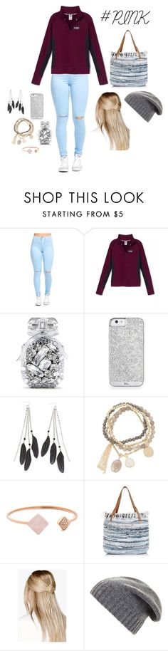 """""""#PINK with Shelbs"""" by shelbiewoerman on Polyvore featuring beauty, Victoria's Secret, Charlotte Russe, DesignSix, Michael Kors, New Look, Boohoo and BCBGMAXAZRIA"""