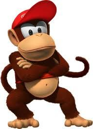 Cool Diddy.  #Donkey #Kong #DK #K #O #N #G #Country #SNES #Wii #Monkey #Hero #Banana #Lover #Diddy #Sidekick #Red #Hat Super Smash Bros, Super Mario Bros, Wii U, Video Game Characters, Cartoon Characters, Arcade, Gregg, Donkey Kong Junior, Diddy Kong