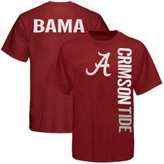 abc0c37ecb8 Alabama Crimson Tide Crimson Fusion T-shirt