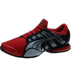 Voltaic 3 NM Men s Running Shoes  Who says good looks and smarts have to  be. Black DarkRed BlackEdge DesignPumasTraining ... 370132fad