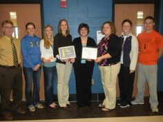 Versailles High School was named the winner of the first CBC Darke Co. Richard Rentz Blood Donation Advocacy Award for Education.