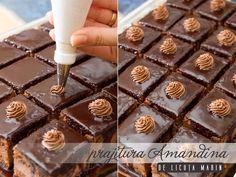 Romanian Desserts, Chocolate Cake, Caramel, Baking, Breakfast, Food, Entertainment, Xmas, Fine Dining