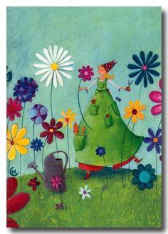 Primavera joisosa de Joana Raspall.Il.lustració Marie Courdonat