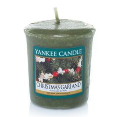 Bougie Yankee Candle - Christmas Garland - votive