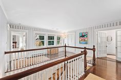 What Does the Grey Gardens House Look Like Now? grey gardens house for sale - House & Garden Edith Bouvier Beale, Grey Gardens House, Gray Gardens, Staircase Landing, Shingle Style Homes, Mansions For Sale, East Hampton, Luxury Apartments, Patio
