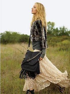 romantic lace maxi