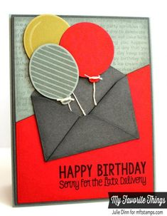 Happy Belated Birthday by stampinjewelsd - Cards and Paper Crafts at Splitcoaststampers