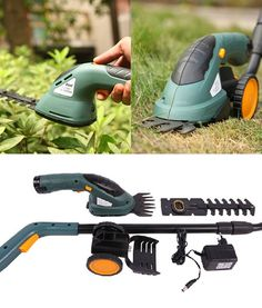 2 In 1 Electric Cordless Grass Shear Hedge Trimmer Power Tool (Type : Lawn mower with wheels) Lawn And Garden, Garden Tools, Home And Garden, Barbados, Belize, Trimming Hedges, Pruning Tools, Ideal Tools, Sprinklers