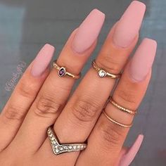There Is 1 Tip To Buy These Jewels Jewerly Nails Cute Gold Sliver Ring Nude Nail Polish Knuckle Jewelry