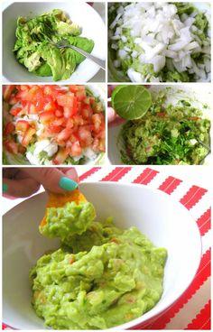 Guacamole. Receta Mexicana   Gastroandalusi                                                                                                                                                     Más
