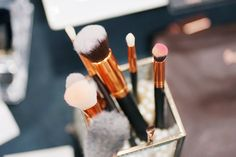 Makeup Brush Set, How To Apply, How To Make, Super Simple, Brushes, Beauty Makeup, Powder, Cream, Face
