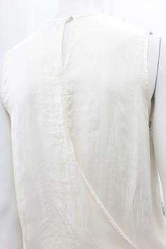 draped back top - Clu
